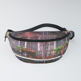 New Orleans French Quarter Iconic Architecture Fanny Pack