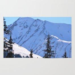 Back-Country Skiing  - V Rug
