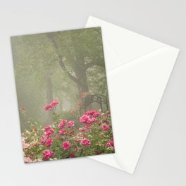 Blooms In Fog I Stationery Cards