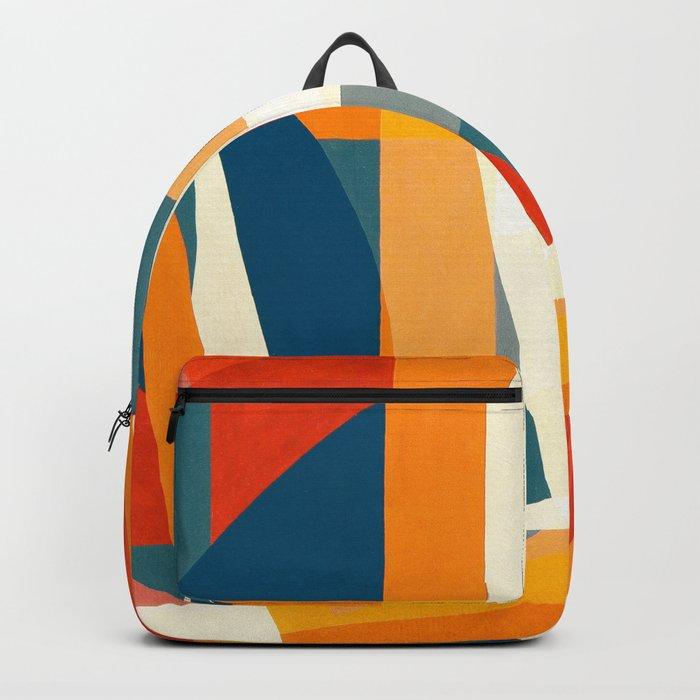 Geometric Joy Backpack