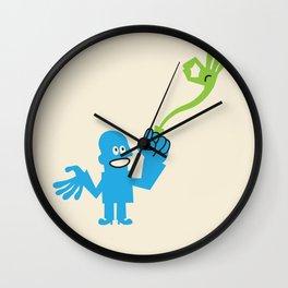 ENERGY RING Wall Clock