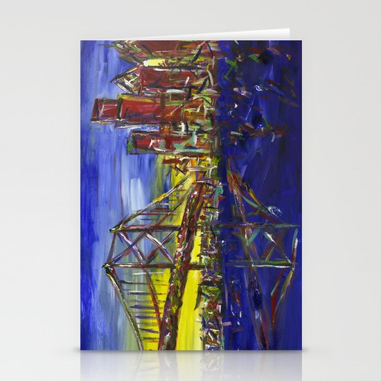 Philly Skyline with Ben Franklin Bridge Stationery Cards