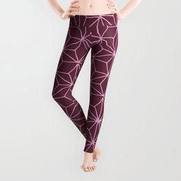 Wine Tile Leggings