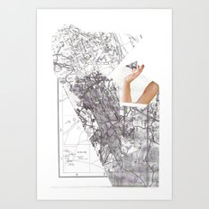 summer destination Art Print