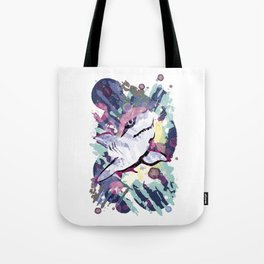 Joyful Shark Tote Bag