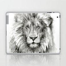 Lion Watercolor Animal Laptop & iPad Skin