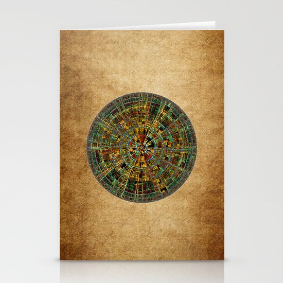Ancient Calendar Stationery Cards