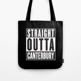 Straight Outta Canterbury - New Zealand Rugby Tote Bag
