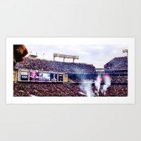 Baltimore Ravens Super Bowl Parade 2013 Art Print