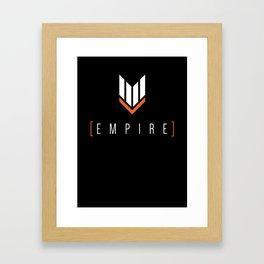 Empire Gaming Symbol Shirt Framed Art Print