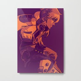 Aoba and Ren Metal Print