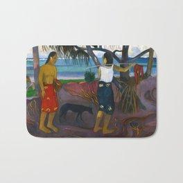 Under the Pandanus by Paul Gauguin Bath Mat