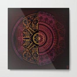 Composition Shields 1 Metal Print