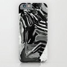 Abstract Zebra Grazing Slim Case iPhone 6s