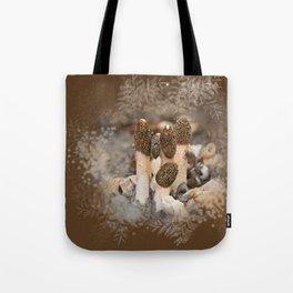 Mushroom Tile Tote Bag