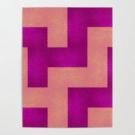 pink pattern II Poster