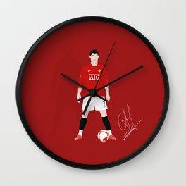 Cristiano Ronaldo - Manchester United Wall Clock