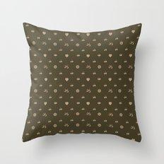 pixel texture Throw Pillow