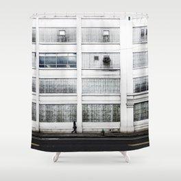 Working in Cambridge Shower Curtain