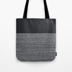 Riverside (Black) Tote Bag