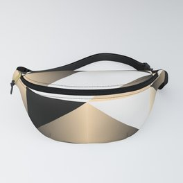 Gold Wrap Fanny Pack