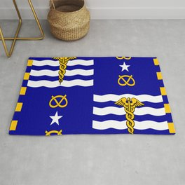 flag of Brisbane Rug