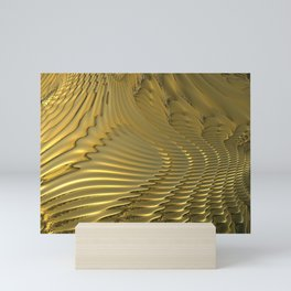 Gold Lava Mini Art Print