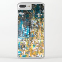 Get your hands dirty Clear iPhone Case