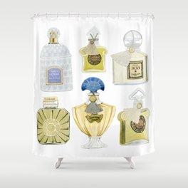 Guerlain Fragrances Shower Curtain
