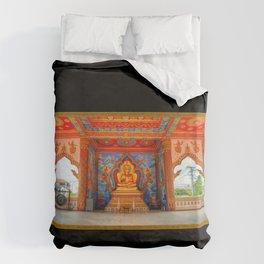 Golden Temple Laos Duvet Cover