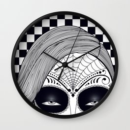 Machete Close Wall Clock