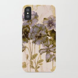 faded bouquet iPhone Case
