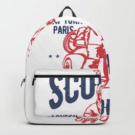Vintage Scooter Backpack