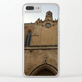 Historic Spanish Church Clear iPhone Case