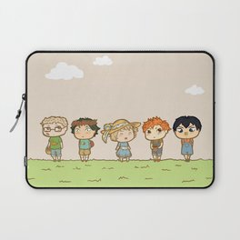 Spring! Karasuno 1st Years Laptop Sleeve