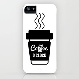 Coffee Time Zone iPhone Case