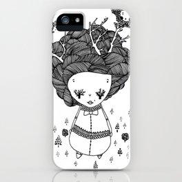 treegirl iPhone Case