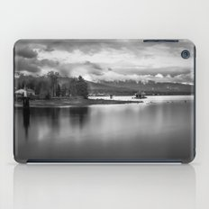 a view of stanley's park iPad Case