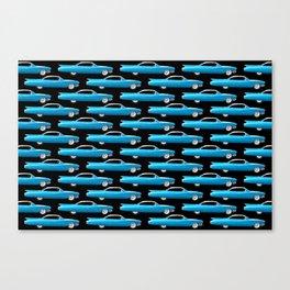 1960 Cadillac Coupe De Ville Canvas Print