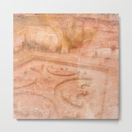 Texture Forum Romanum Metal Print