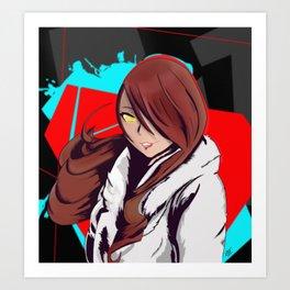 Mitsuro Kirijo - Persona 4 Arena Art Print