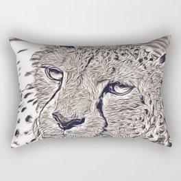 Rustic Style - Cheetah Rectangular Pillow