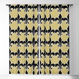 Fleur de lis Blackout Curtain