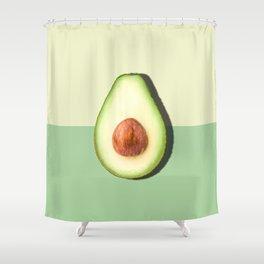 Avocado Half Slice Shower Curtain