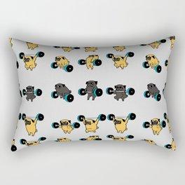 OLYMPIC LIFTING PUGS Rectangular Pillow