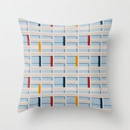 S04-2 - Facade Le Corbusier Throw Pillow