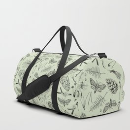 Green forest treasures. Duffle Bag