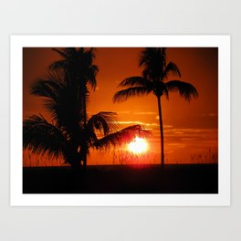Beautiful Sunset II Art Print