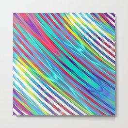 Linear gradience Metal Print