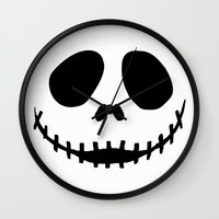 jack Wall Clocks featuring Jack by Jason Michael
